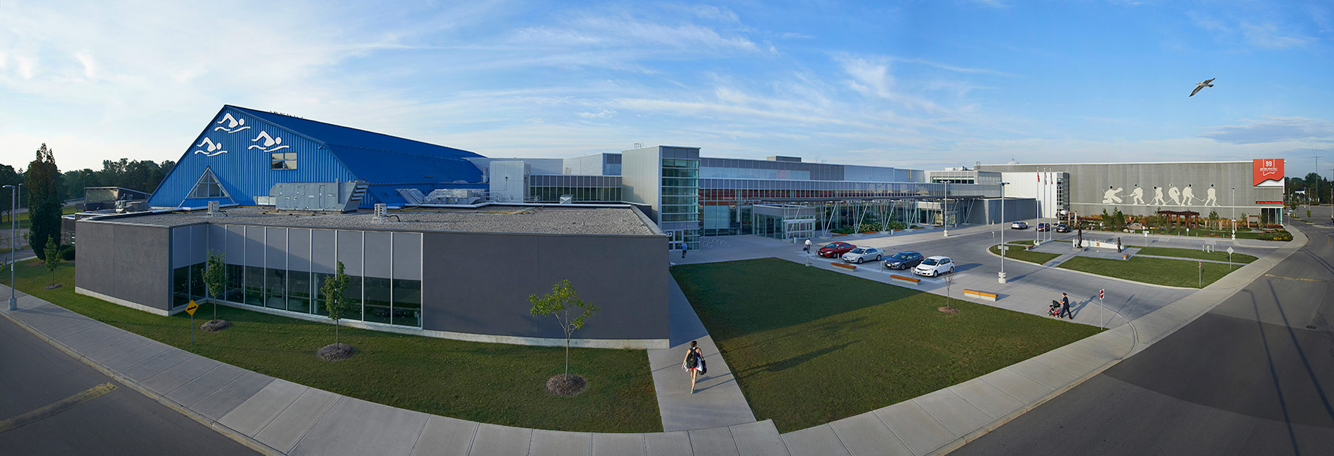 Wayne Gretzky Sports Centre facility overview.